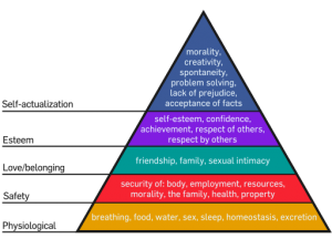 Maslows Hierarchy of Needs 300x225 Are the Needs of Your Life Coach Client Being Met?