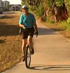mcuni9 Unicycle Uni Dude Rides Again