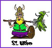 StUrho St. Patrick . . . Or St Urho?